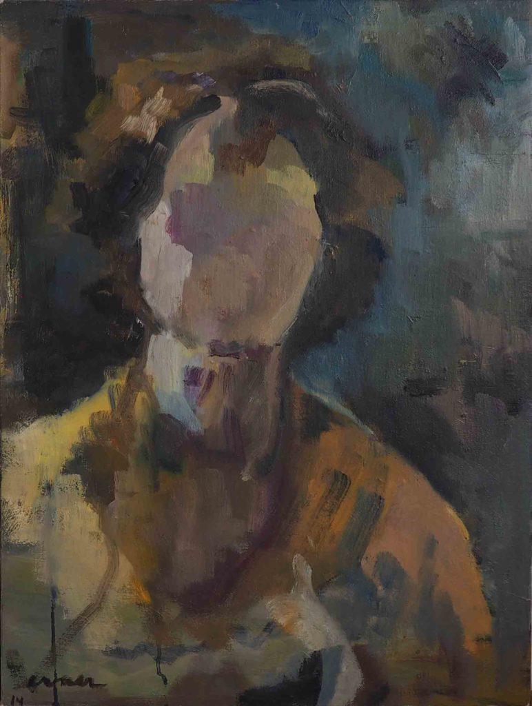 Autoportrait 61x46